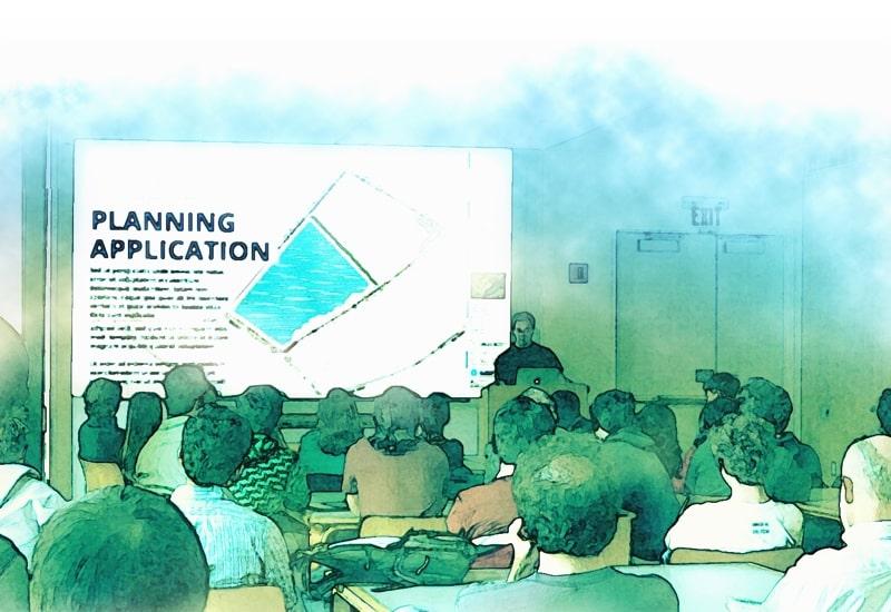 planning application illustration